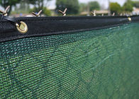 Durable 8ft * 50ft Privacy Fence Screen Mesh Shade Cloth With Brass Grommets 200G/M2