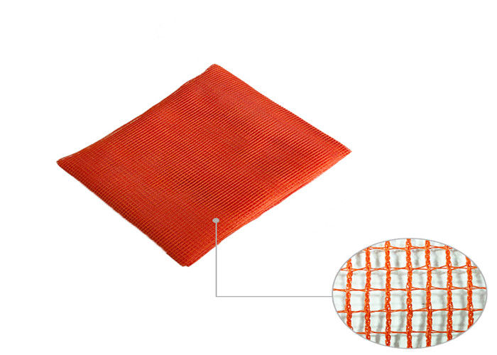 100% Polyethylene Knotless Construction Safety Net Wind And Dust Control Available