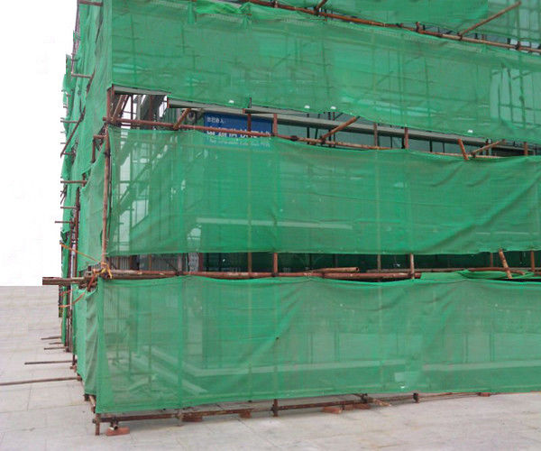 High Strength Construction Safety Net For Environment Protection 6 Meter Width