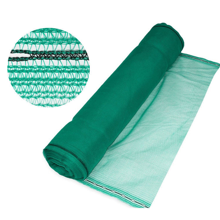 Green Construction Safety Net Tear Resistant 3*50 Meter Shading Rate 30-90%:
